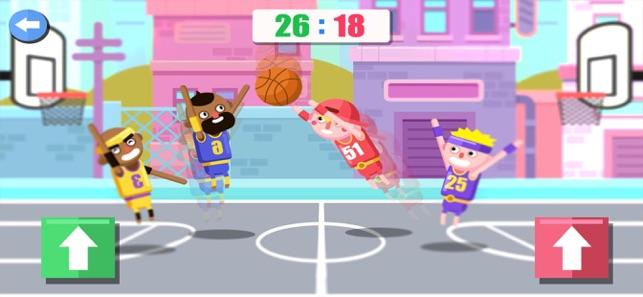 趣味双人篮球