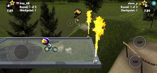 火柴人自行车战斗