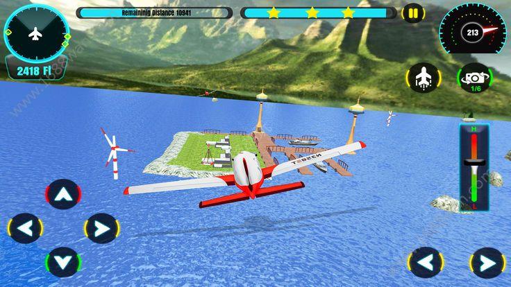 天空飞机飞行模拟器3D