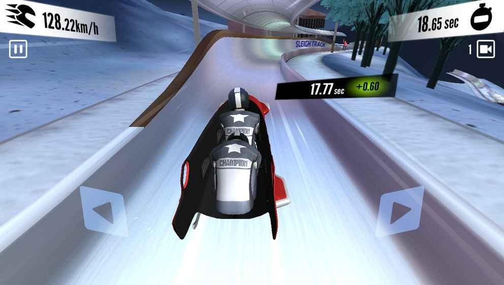 雪橇冠军:冬季体育运动