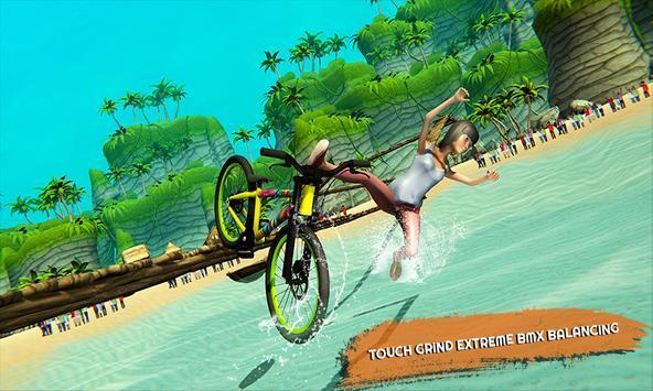 自行车水上平衡赛