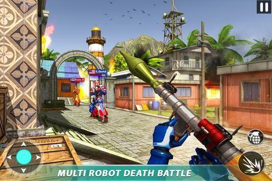 机器人丛林打击Fps