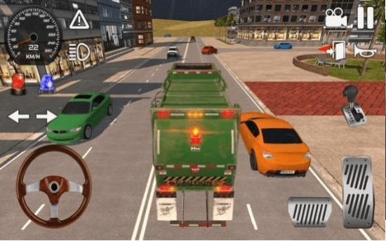 美国垃圾卡车模拟器2020 中文版