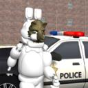 白套灰狼脸拉斯维加斯警察 中文版